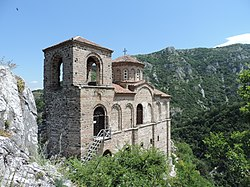 Church of the Holy Mother of God, Asen's Fortress, Bulgaria 07.JPG