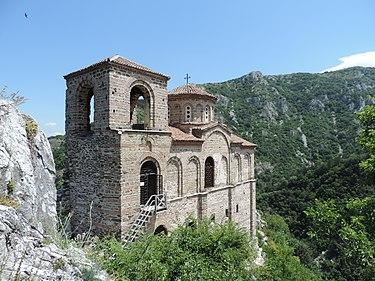 Церковь Пресвятой Богородицы, крепость Асен, Болгария 07.JPG