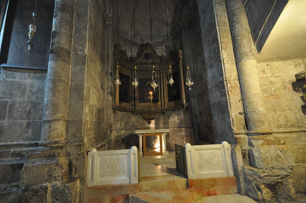Grabeskirche - Die griechische Verspottungs-Kapelle - vergrößerbar