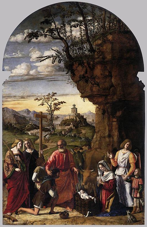 Adoration of the Shepherds by Cima da Conegliano