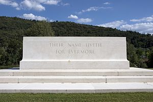 Stone of Remembrance - Florence Cemetery