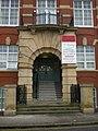 Cinnabar House, Entrance - geograph.org.uk - 1597718.jpg