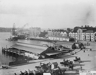 Circular Quay - Circular Quay (1892)
