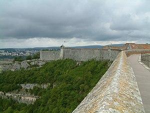 Citadel of Besançon - Ramparts