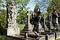 City of London Cemetery photographing Janet Bruce Arthur Mildred Richards monument 3.jpg