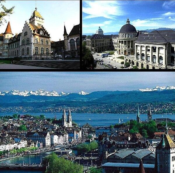Zdjęcia w Zurych: