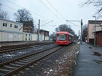 Citybahn nach Chemnitz kurz hinter Bahnhof Stollberg (Erzgeb).JPG