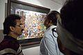 Cityscape 1 - Arun Kumar Majumder - Painters Orchestra - Group Exhibition - Kolkata 2015-12-12 8004.JPG