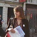Claire Morel, candidate aux élections législatives de juin 2012 dans la première circonscription de Paris.jpeg