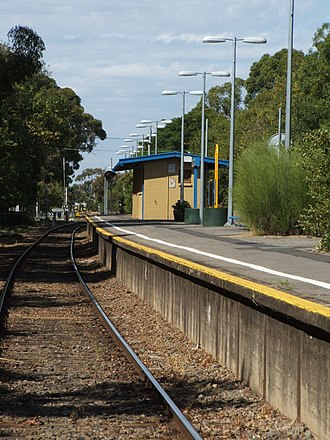 Clarence Park railway station - Image: Clarence Park railway station