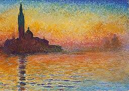Claude Monet, Saint-Georges majeur au crépuscule