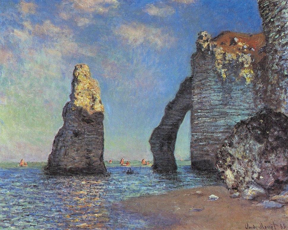 Claude Monet The Cliffs at Etretat