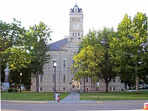 Clay County Courthouse.