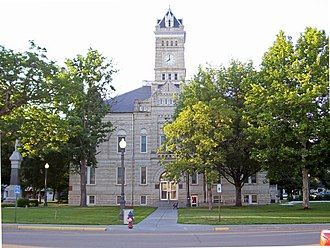 Clay Center, Kansas - Clay County Courthouse (2006)