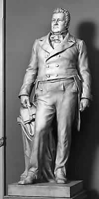 John M. Clayton - Clayton's statue in the National Statuary Hall Collection, sculpted by Bryant Baker.