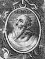 Cleanthes from Epicteto, y Phocilides en español con consonantes, 1635, frontispiece detail.png
