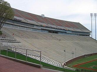 Memorial Stadium (Clemson) - Image: Clemson Memorial Stadium 1