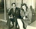 Clifton Cates and Maureen O'Hara, November 1945 (22503906641).jpg