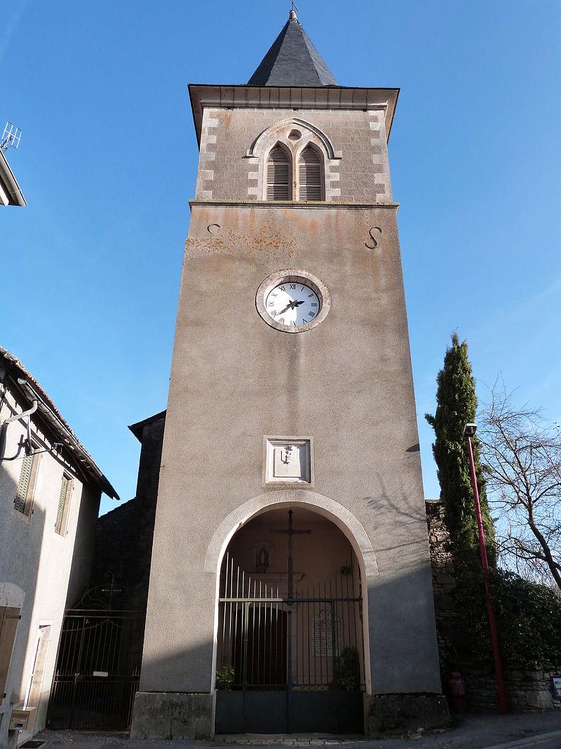 Clocher-porche de l'église Notre-Dame de la Nativité.JPG