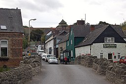 Clun Bridge and church - geograph.org.uk - 1502931.jpg
