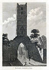 Co. Sligo, Banada Abbey, 1791