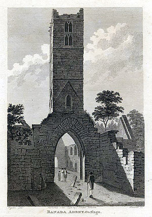 Kilmactigue - The old Abbey in the 1790s