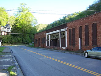 National Register of Historic Places listings in McDowell County, West Virginia - Image: Coalwood Company Store
