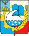 Coat of Arms of Shebekino (Belgorod oblast) proposal (1990s).png