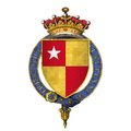 Coat of arms of Sir Richard de Vere, 11th Earl of Oxford, KG.png