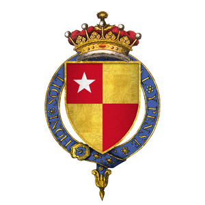 Richard de Vere, 11th Earl of Oxford - Arms of Sir Richard de Vere, 11th Earl of Oxford, KG