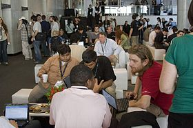 Coffee Break-Wikimania 2009.jpg