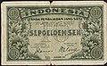 Collectie NMvWereldculturen, TM-6381-4, Bankbiljet, 'Bankbiljet van 10 Sen', 1947.jpg