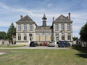 Colligis-Crandelain - The town hall of Colligis