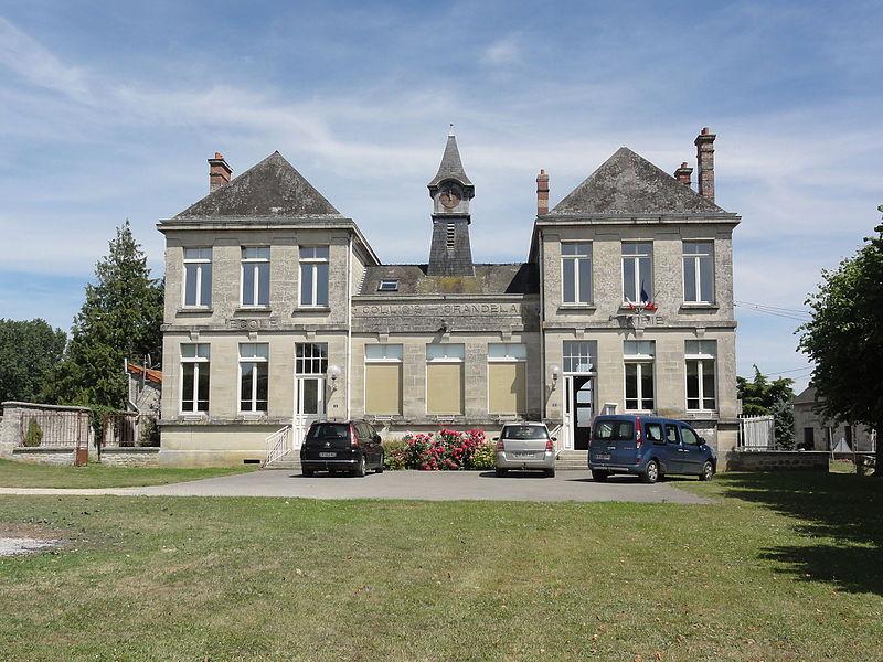 Colligis-Crandelain (Aisne) mairie à Colligis
