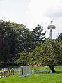 Columbia - Iran - Challenger - Maine Mast - Arlington National Cemetery - 2011.JPG