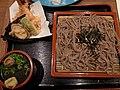 Combo of soba noodle and tempura (4808586338).jpg