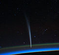 Comet Lovejoy seen from the ISS.jpg