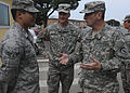 Command Sgt. Maj. David Davenport visits Soldiers in Italy (7005727935).jpg