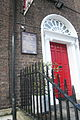 Commemorative plaque to Lafcadio Hearn (1850-1904), 48 Gardiner Street Lower, Dublin, Ireland. In context.jpg