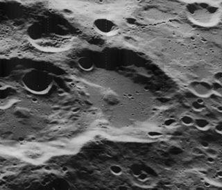 Comrie (crater) Lunar impact crater