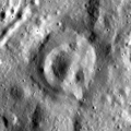 Concentric crater on Dorsum Oppel.png