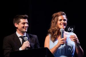 Micaela Vázquez - Image: Conductores 2015