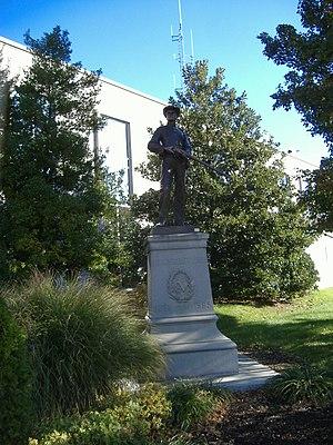Confederate Monument in Owensboro - Image: Confederate Monument in Owensboro 2