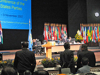 Organisation for the Prohibition of Chemical Weapons - Conference of the states parties in 2007