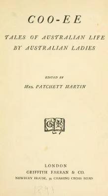 Coo-ee - tales of Australian life by Australian ladies.djvu