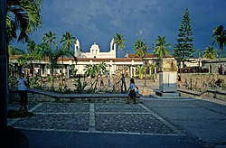 Main Plaza in Copán Ruinas