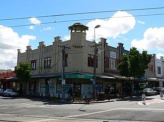 Ripponlea, Victoria - Image: Corner glen eira avenue and glen eira road ripponlea