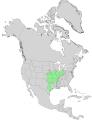 Cornus drummondii range map 0.png