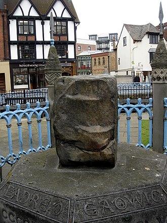 Coronation Stone, Kingston upon Thames - Coronation Stone, Kingston-upon-Thames
