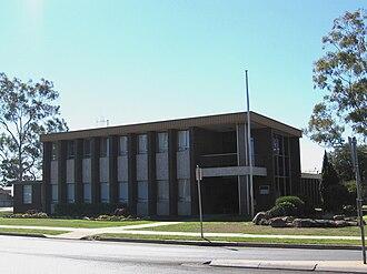 Corowa Shire - Corowa Shire Council offices, Corowa.